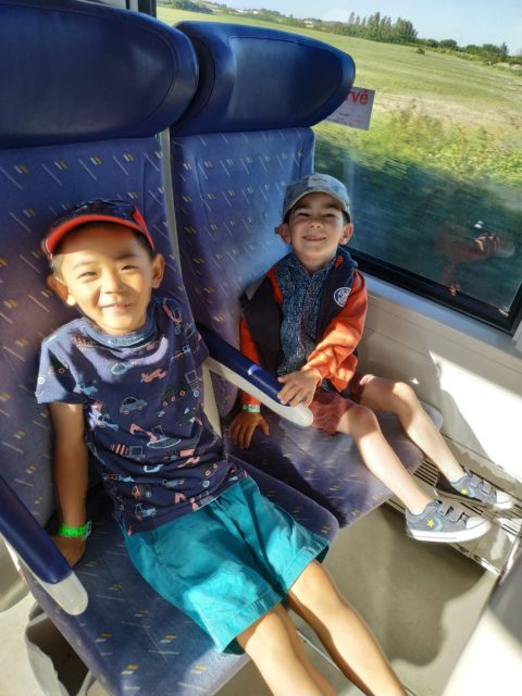 Sortie en train à Chatelaillon