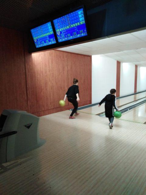 Mercredi, c'était sortie bowling avec les jeunes du Club