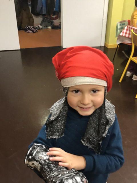 Séance photo avec Cléa à l'accueil périscolaire de l'école maternelle des Cèdres