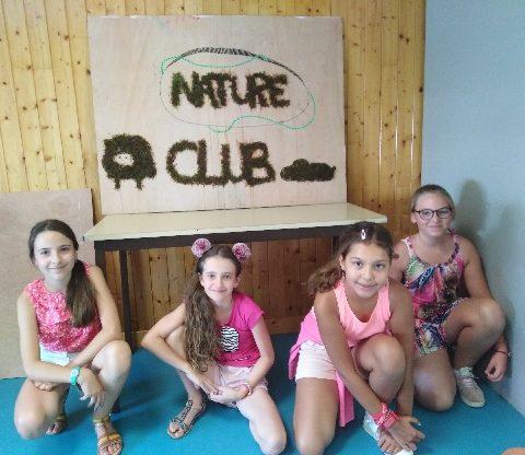 Atelier graf végétal au Club