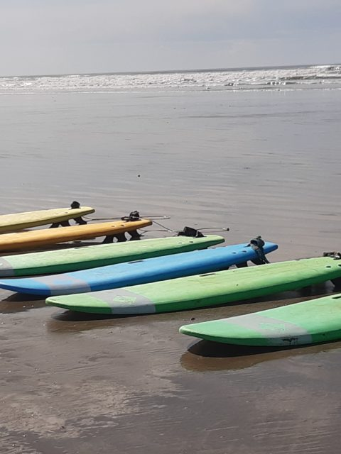 Sortie Famille Surf