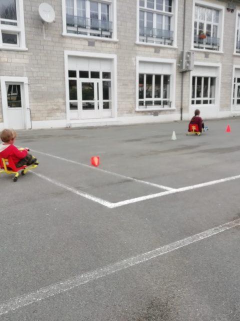 Parcours relais voiture